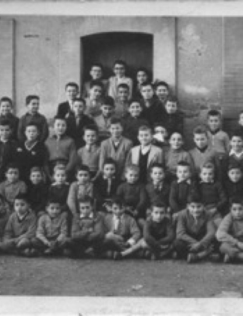 Escola de Brunyola any 1960